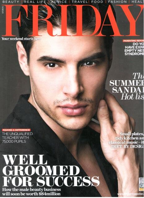 Friday Magazine Cover Dubai