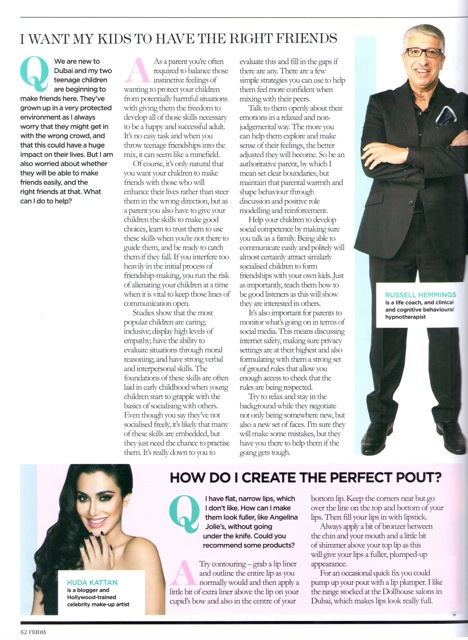 Friday Magazine P1
